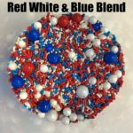 Red White and Blue sprinkles
