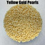 Yellow Gold Pearls